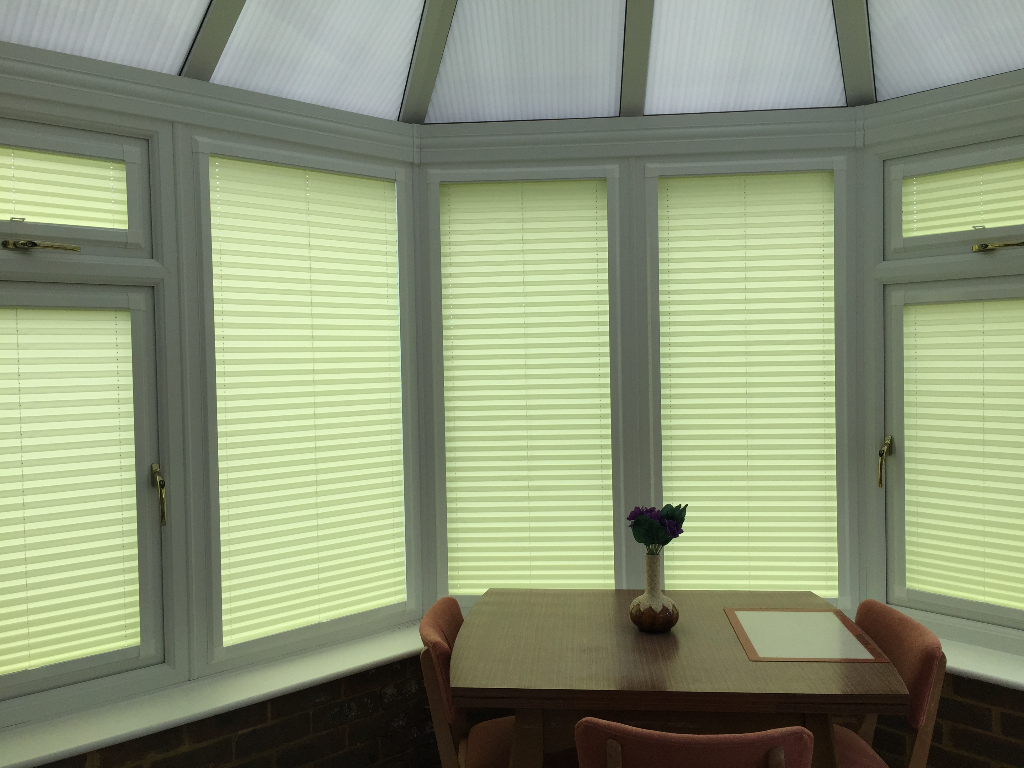 Perfect Fit Pleated Blinds Worthing Chichester Crawley